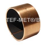 Свёртная биметаллическая втулка, сталь/покрытие ПТФЭ, не требует техобслуживания